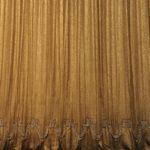 goldener Theatervorhang